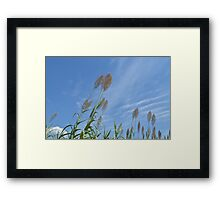 For Miles and Miles Framed Print