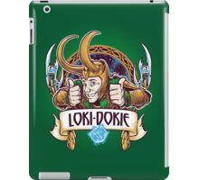 Loki-Dokie iPad Case/Skin