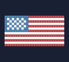 United States Flag Made of LEGOS by DeepFriedArt