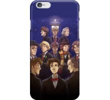"""Doctor Who Medley (""""50 Years of Doctor Who"""" without Captions) iPhone Case/Skin"""