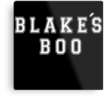 Blake's Boo - The Voice Metal Print