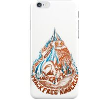 water is life - frack free kimberley iPhone Case/Skin