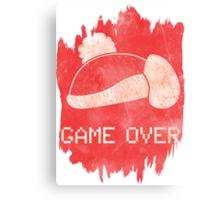 Game Over King DeDeDe Canvas Print