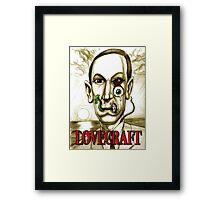 LOVECRAFT DREAMS Framed Print