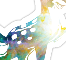 Space Bambi | Heart of Omega Nebula Sticker