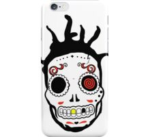 RIP MC's - Gangsta Rapper Sugar Skulls iPhone Case/Skin