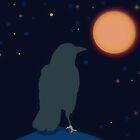 raven moon by Laura Lea Comeau