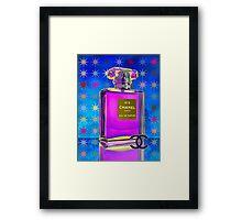 Luxury French Perfume Framed Print