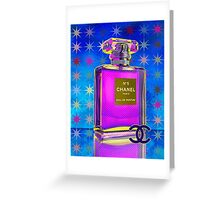 Luxury French Perfume Greeting Card