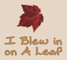 I Blew in on a Leaf by LaainStudios