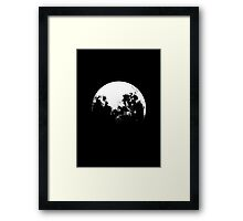 MOOON Framed Print