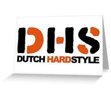 Dutch Hardstyle Greeting Card
