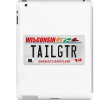 License Plate - TAILGTR iPad Case/Skin