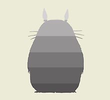 My Ombre Totoro by CanisPicta