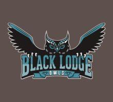 Black Lodge Owls (Teal Variant) by Art-Broken