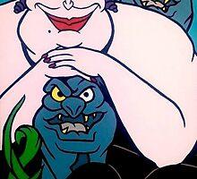 Mischievous Ursula  by tygora