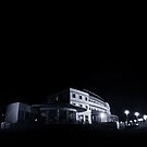 The Midland Hotel, Morecambe at night by beanphoto