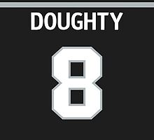 Los Angeles Kings Drew Doughty Phone Case by Russ Jericho