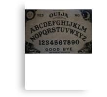 Ouija. Canvas Print