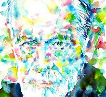 SIGMUND FREUD - portrait.1 by lautir