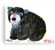 Lil Bear Canvas Print