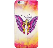 Coolorful Butterfly iPhone Case/Skin