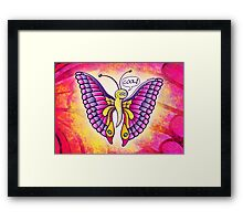 Coolorful Butterfly Framed Print