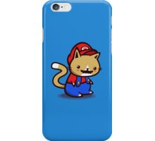 It's-a-me! Meow-rio! iPhone Case/Skin