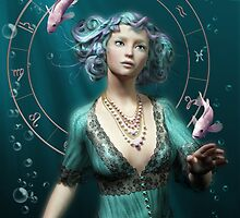 Zodiac Fantasy Circle by Britta Glodde