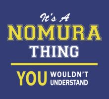 It's A NOMURA thing, you wouldn't understand !! by satro