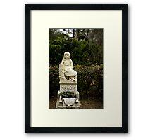 """Gracie"" Bonaventure Cemetery Framed Print"