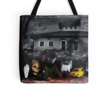 Fear and Loathing at the End of a Country Road Tote Bag