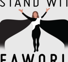 """I Stand With SeaWorld"" Logo Sticker"