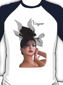 Vogue - fashion model T-Shirt
