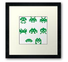 Invaders Framed Print