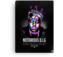 Notorious BEEF Canvas Print