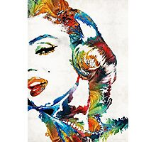 Marilyn Monroe Painting - Bombshell - By Sharon Cummings Photographic Print