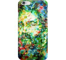 HERMAN MELVILLE watercolor portrait.3 iPhone Case/Skin