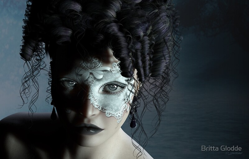 Masquerade midnight venice by Britta Glodde