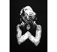 Marilyn Swag Photographic Print
