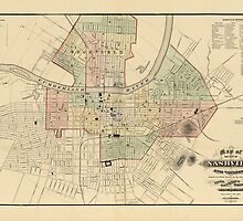 Map of Nashville 1877 by AndrewFare