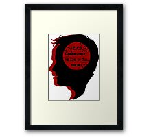 Crowley Silhouette Framed Print