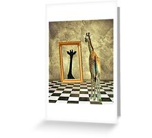Giraffe Dreams Greeting Card