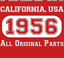 Made in California, USA, 1956.. All Original Parts !! by inkedcreatively