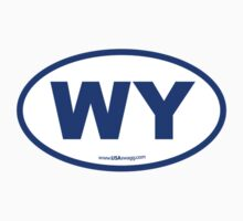 Wyoming WI Euro Oval BLUE by USAswagg2