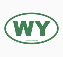 Wyoming WI Euro Oval GREEN by USAswagg2