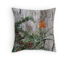 We Got Red Here :)  Throw Pillow