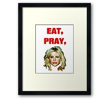 Eat, Pray, Love Framed Print