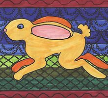Leapin' Lapin by redqueenself