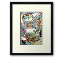 Regular Time Framed Print
